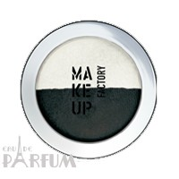 Make up Factory Тени для век Make Up Factory -  Duo Eye Shadow №04 Graphite/Satin White