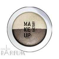Make up Factory Тени для век Make Up Factory -  Duo Eye Shadow №18 Cafe Au Lait/ Glazed Almond