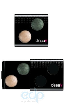 Debby - Двойные тени для век Color Case Duo № 01 - 1.1 g