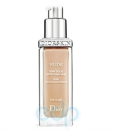 Крем тональный Christian Dior -  Diorskin Nude Skin-Glowing Make-up SPF15 №010  Ivory