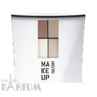 Make up Factory Набор Make Up Factory - Eye Color №09 Firenze Red/Golden Toffee/Brilliant Vanilla/Soft Cashmere