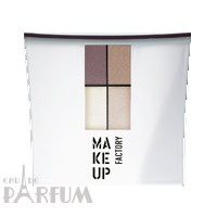 Make up Factory Набор Make Up Factory - Eye Color №10 Burned Sepia/Brown Azalea/Misty White/Pastel Pink