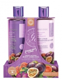 Grace Cole - Набор для ухода за телом Body Care Duo Passion Fruit & Guava с ароматом маракуйи и гуавы