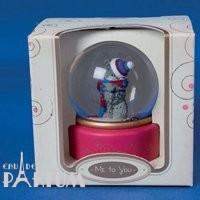 Teddy MTY (мишки) Водяной шар MTY (Me To You) -  мишка в шапочке (арт. G01R0153)