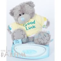 Teddy MTY (мишки) Игрушка плюшевая MTY (Me To You) -  медвежонок в желтой футболке Good Luck 7.5 см (арт. G01W1055)