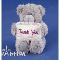 Teddy MTY (мишки) Игрушка плюшевая MTY (Me To You) -  медвежонок с плакатом Thank You 7.5 см (арт. G01W1062)