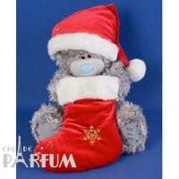 Teddy MTY (мишки) Игрушка плюшевый мишка MTY (Me To You) -  мишка держит носок для подарков 30 см (арт. G01W1252)