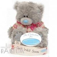 Teddy MTY (мишки) Игрушка плюшевая MTY (Me To You) -  мишка поправляйся Get Well Soon 15 см (арт. G01W1577)