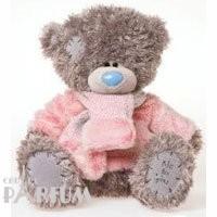 Teddy MTY (мишки) Игрушка плюшевый мишка MTY (Me To You) -  мишка в розовом свитере с шарфиком 30 см (арт. G01W1993)