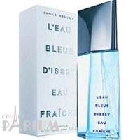 Issey Miyake Leau Bleue DIssey Eau Fraiche -  Набор (туалетная вода 75 + гель для душа 100)