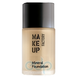 Make Up Factory - Крем тональный для лица Mineral Foundation № 04 Soft Hazelnut - 30 ml