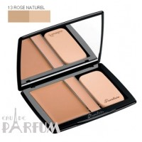Пудра компактная Guerlain -  Lingerie de Peau Compact Foundation and Concealer №13 Rose Naturel