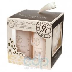 Grace Cole - Набор подарочный Tranquil Treats (гель для душа 100 ml + лосьон для тела 100 ml + мочалка) с ароматом ванили и инжира