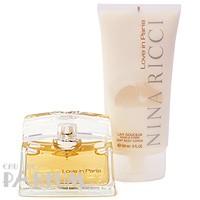 Nina Ricci Love in Paris -  Набор (парфюмированная вода 50 + лосьон-молочко для тела 150)