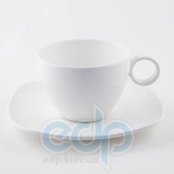 Maestro - White Linen Чашка с блюдцем 200 мл (МР10001-05/06)