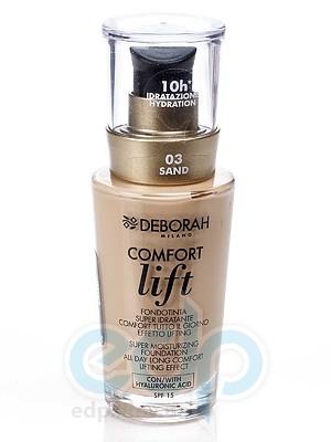 Deborah - Тональная Основа для лица вельветовая Comfort Lift № 03 - 30 ml