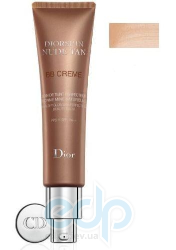 Тональный крем Christian Dior - Diorskin Nude Tan BB Cream SPF15 №002 - 30 ml