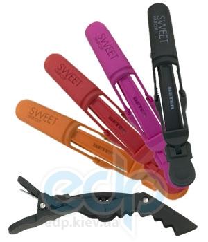 Beter - Зажим для волос профессиональный Viva B Sweet Hair Clip (2 штуки), в блистере (2638)