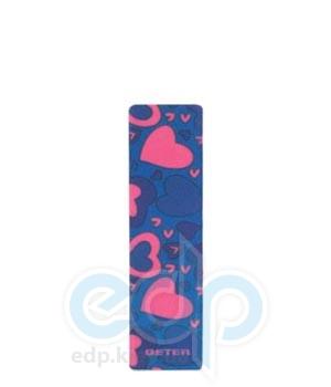 Beter - Пилочка для ногтей двусторонняя, стекловолокно, 180/220 гран - 10.5 см (16019)