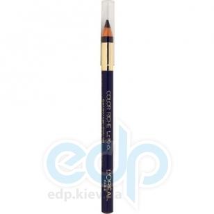 Карандаш для век устойчивый L'Oreal - Colour Riche Le Khol №107 Глубокий синий - 3.8 g