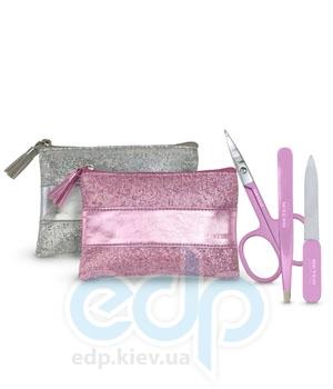 Beter - Набор маникюрный в косметичке (пинцет, ножницы, пилочка) Brilliant Mini Kit Manicure (2932)