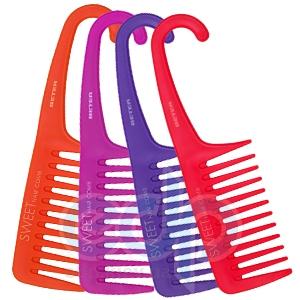 Beter - Гребень для кучерявых волос с ручкой Viva B Sweet Hair Comb, в блистере - 22.5 см (2651)