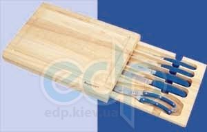 Berghoff -  Ножи forged с синей ручкой в деревянной коробке -  5 предметов (арт. 1302126)