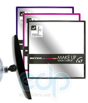 Beter - Зеркало подвесное поворотное, х7 увеличение Viva Make Up Macro Mirror - 15 см (7875)