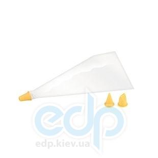 Tescoma - Delicia Кондитерские мешки 10 шт, 3 насадки (арт. 630506)