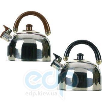 Maestro - Чайник Rainbow черные и коричневые ручки объем 2.5 л (арт. МР1300)