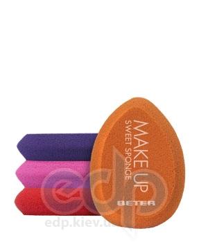 Beter - Спонж для макияжа, латекс Viva B Make Up Sweet Sponge, в блистере - 5.5 см (2655)