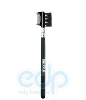 Beter - Щеточка-расческа для бровей и ресниц, нейлоновая щетина, Professional - 15.8 см (2905)