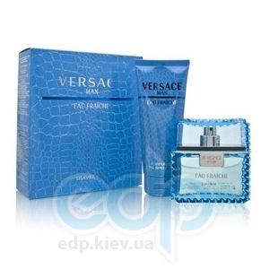 Versace Man Eau Fraiche -  Набор (туалетная вода 100 + гель для душа 100)