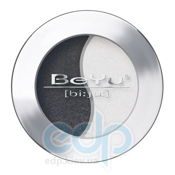 Тени для век BeYu - Duo Eye Shadow №02 Black - White