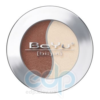 Тени для век BeYu - Eye Shadow Duochrome №17 Brown Leather - Vanilla Ice