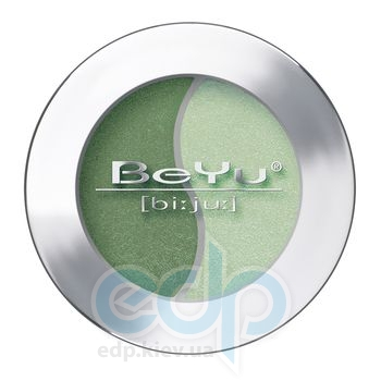 Тени для век BeYu - Eye Shadow Duochrome №37Grass Green - Misty Green