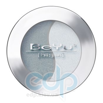 Тени для век BeYu - Eye Shadow Duochrome №51 Dark Grey - Ice Blue Powder