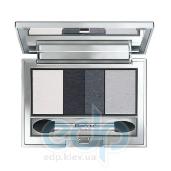 Тени для век BeYu - Catwalk Quattro EyeShadow №01 Black & White Shades