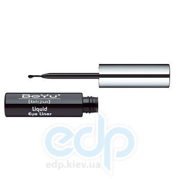 Подводка для глаз с кисточкой BeYu - Liquid Eye Liner №1 Black