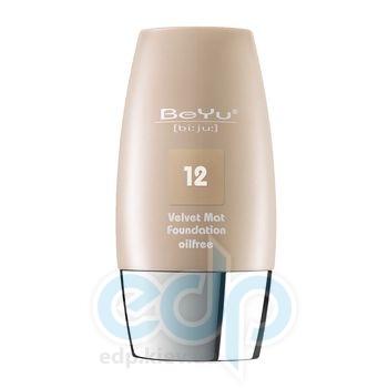 Тональный крем с матирующим эффектом BeYu - Velvet №12 Honey Beige
