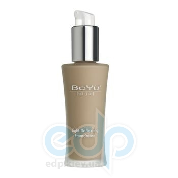 Легкий тональный крем с отражающим эффектом BeYu - Light Reflecting Foundation №4 Rosy Skin