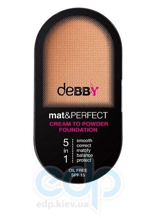 Debby - Основа под макияж MAT & PERFECT 5в1 № 301