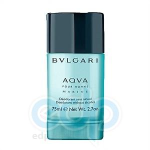 Bvlgari Aqva Pour Homme Marine - дезодорант стик - 75 ml