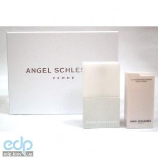 Angel Schlesser Femme -  Набор (туалетная вода 100 + лосьон-молочко для тела 200)