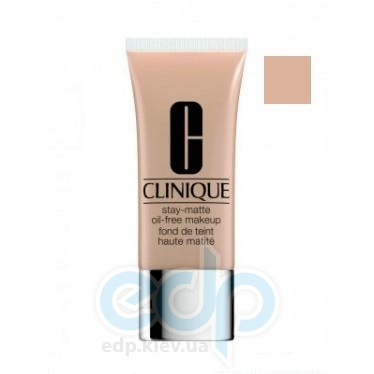 Тональный крем для лица матирующий для комбинированной и склонной к жироности кожи Clinique - Stay Matte Oil Free Makeup №07 Cream Chamois - 30ml