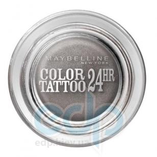 Тени для век кремово-гелевые 1-цветные Maybelline - Color Tattoo 24h №55 Серый - 4.5 g