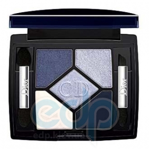 Тени для век Christian Dior -  5-Colour Eyeshadow Designer №208 Navy Design TESTER