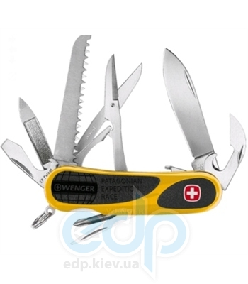 Wenger - Армейский нож Evogrip WPER желтый Экспедиция в Патагонию (арт. 1.18.59.822)