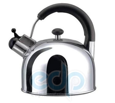 Vinzer (посуда) Vinzer -  Чайник BRIGHT - нержавеющая сталь, 3,0 л, свисток (арт. 89001)