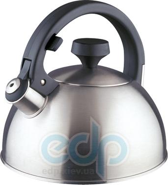 Vinzer (посуда) Vinzer -  Чайник CALLYPSO - нержавеющая сталь, 2,5 л, свисток (арт. 69004)